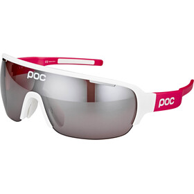 POC DO Half Blade AVIP Glasses hydrogen white/flourescent pink